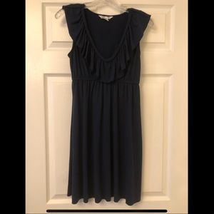 NWOT Navy Blue Jersey Dress Size Medium